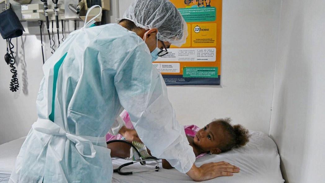 Niño sano, pediatra feliz
