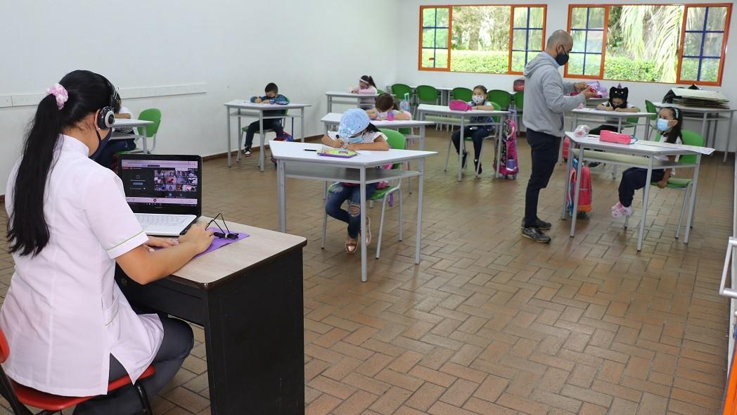 Colegio Comfenalco Quindío Retorno a la presencialidad en alternancia, con entusiasmo y bioseguridad